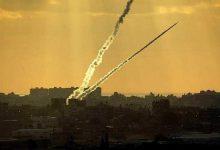 صورة كتائب القسام تستهدف العدو بضربة صاروخية وصفارات الإنذار تدوي بالقدس