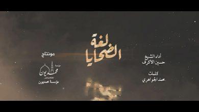 صورة مونتاج أنشودة ( لغة الضحايا )