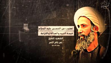 صورة 📽فلاش ( تعلمت من الحسين عليه السلام قيمة الحرية والعدل والكرامة )